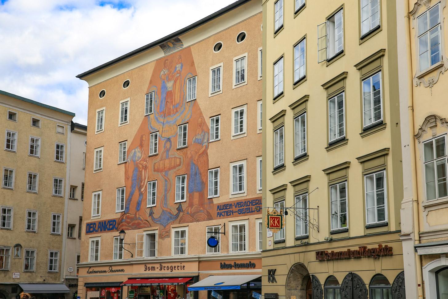 Oude binnenstad van Salzburg