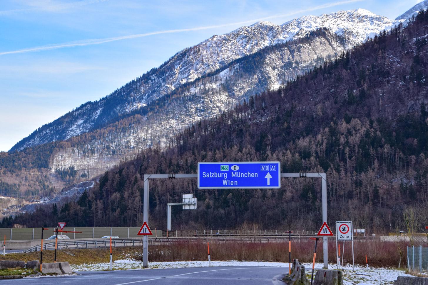 Met de auto naar Salzburg reizen