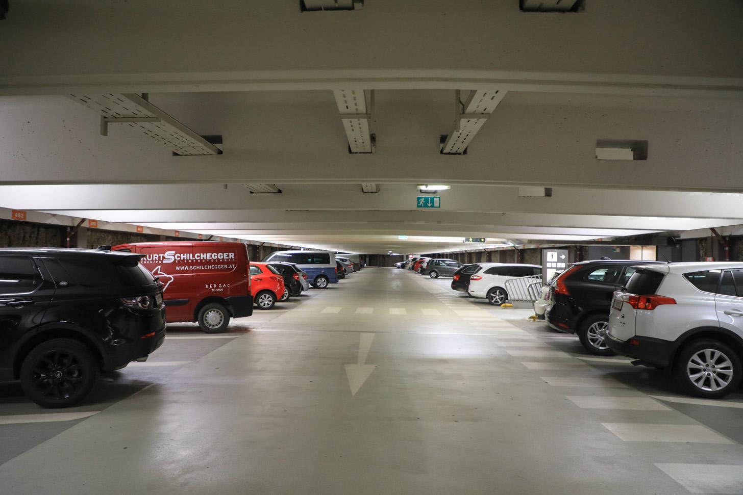 Parkeren in Salzburg