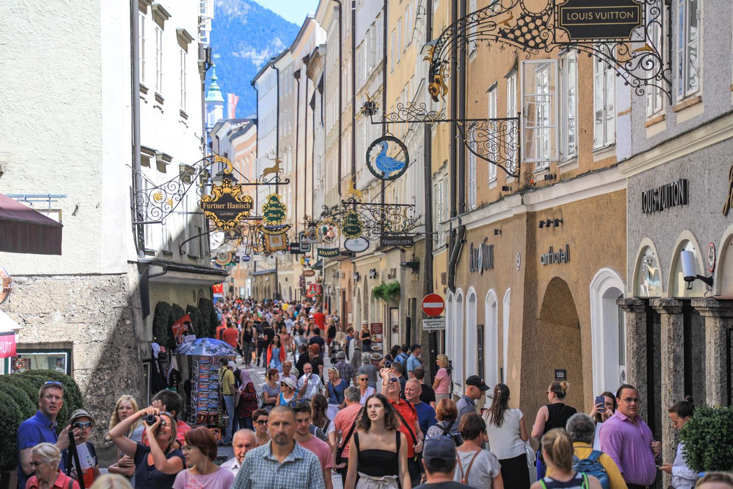 Winkelen in Salzburg